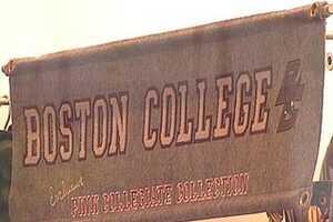 Boston College Fashion at Victoria's Secret