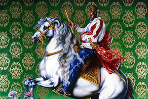 Kehinde Wiley's Classical Paintings of Hip Hop Culture