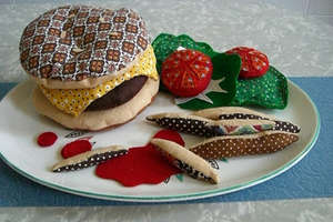 Burgers as Inedible Art