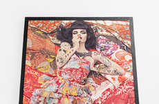 Couture Pin-Up Puzzles - Steven Meisel's $750 Jigsaw