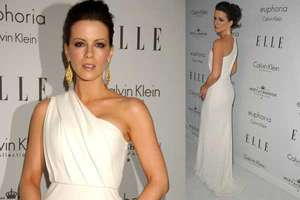 Kate Beckinsale in Toga-Inspired Gown