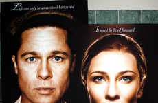 Movies About 'Unaging' - Brad Pitt and Cate Blanchett in The Curious Case of Benjamin Button