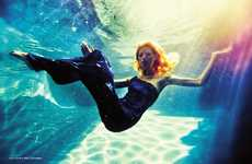 Underwater Fashion Photography - Cruisin' With Kirsty in V Magazine