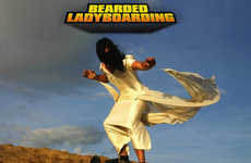Bearded Ladyboarding -  The Oddities You Can Do With a Camera