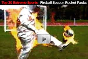 Fireball Soccer, Rocket Packs and Flipping Wheelchairs