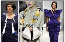 Origami Inspired Fashion - Papercraft Spring Collections