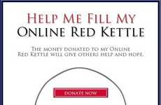 Virtual Charity Kettles - Digital Salvation Army Kettles Endorsed by Jonas Brothers