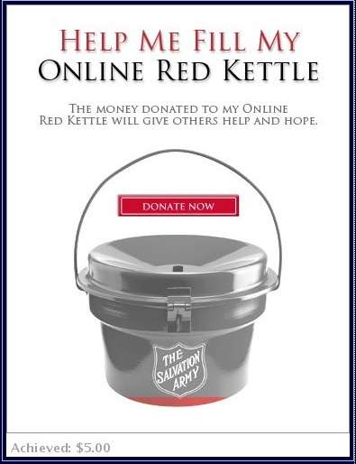 Virtual Charity Kettles