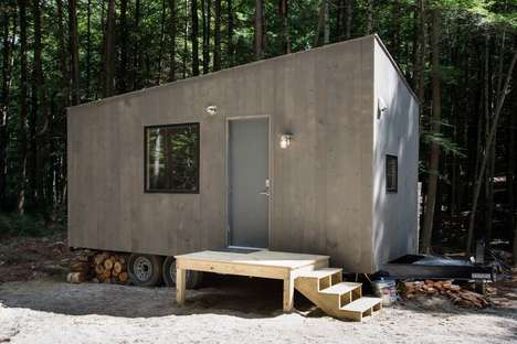 Tiny Off-Grid Cabins - This Secluded Cabin Comes Equipped with Everything You Need to Get Away