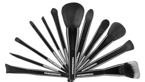 Expanding Beauty Tools - The Tweezerman Brush IQ Set is the Latest Venture for the Beauty Brand