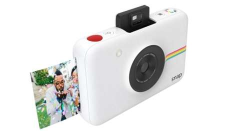 Instantly Sharable Polaroid Cameras - This Miniature Camera Also Prints Photos with a Retro Style