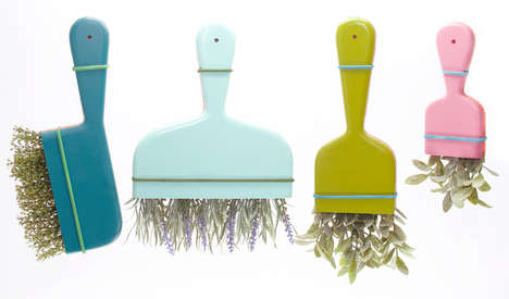 Herbal Cleaning Products - These Household Cleaning Tools are Made from Natural Spices and Herbs