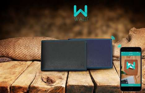 Simplistic Smart Wallets - The Walli Smart Wallet is Smartphone-Enabled to Ensure it's Never Lost