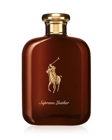 Leathery Sport Colognes - The Latest Ralph Lauren Polo Supreme Leather Emphasizes Masculine Scents