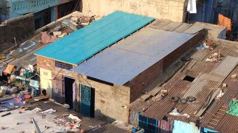 Affordable Indian Roofs - The ModRoof Provides Shelter For Low-Income Families
