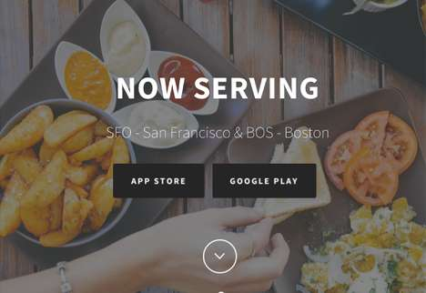 Pre-Flight Meal Apps - The 'AirGrub' App Lets Travelers Buy Airport Food with Pre-Order Food App
