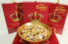 Lavish Regal Breakfasts - This Cereal Celebrates Queen Elizabeth's Longest Reign