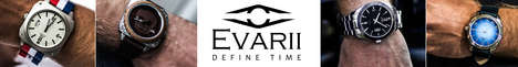 Stylish Modular Watches - The Evarii Watch Can Be Customized to Suit Your Needs