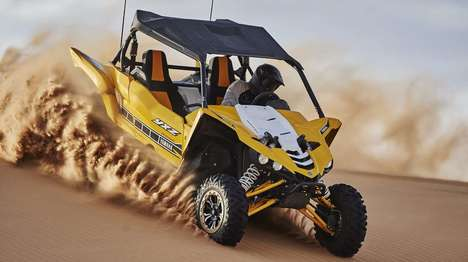 Sporty Off-Road Vehicles - This Yamaha Side-By-Side is Designed For Brash Off-Road Driving