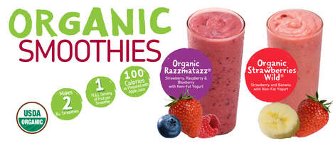 Pre-Packaged Smoothie Powders - These Organic Smoothie Kits are Designed for Maximum Convenience