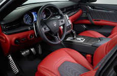 Couture Car Interiors - Maserati and Zegna Collaborated to Create Stylish Car Seats