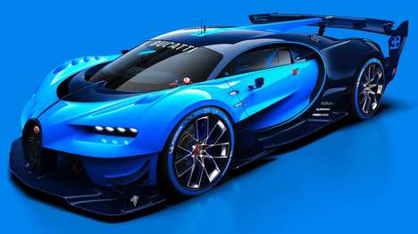 Distinctive Racing Cars - This Vision Gran Turismo is Reminiscent of the Bugatti Veyron