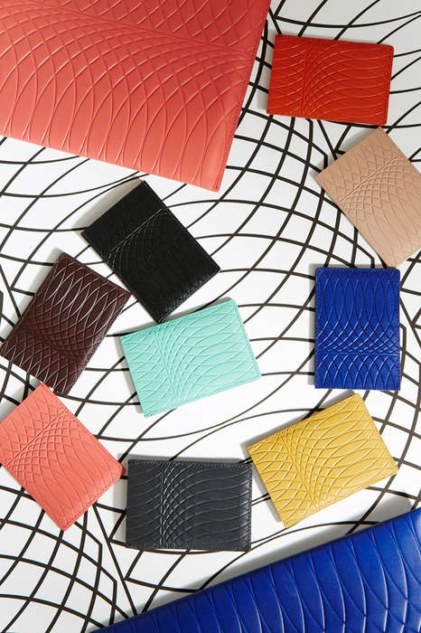 Wrought Iron-Inspired Wallets - Paul Smith's Patterned Wallets Reflect His Store's Architecture