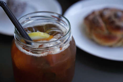 Hybrid Coffee Lemonades - World of Coffee's 'Kaffelemonad' Blends Iced Coffee and Lemon Simple Syrup