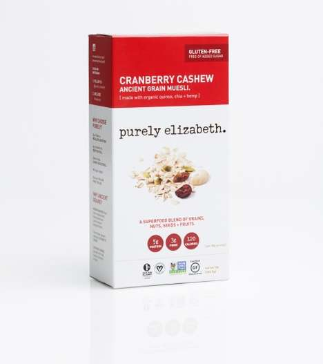 Gluten-Free Breakfast Cereals - This Raw Granola is Made with Ancient Grains and Superfood Seeds