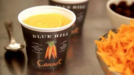 Drinkable Savory Yogurts - Blue Hill's Latest Product is Made for On-the-Go Drinking