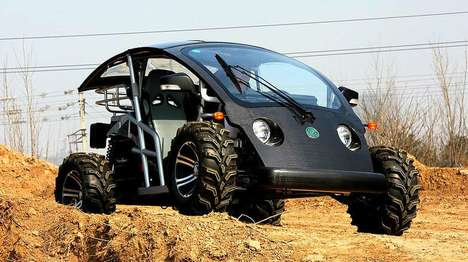 Versatile Off-Road Vehicles - The Cruser Off Road Experience Car is Great For Various Environments