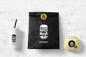 This Greek Burger Chain Boasts Sleek Packaging for the Design Lover