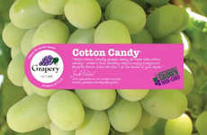 Candy Floss-Flavored Grapes - Grapery's Cotton Candy Grapes Naturally Mimic the Taste of Spun Sugar