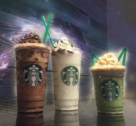 Sci-Fi Coffee Drinks - These Galactic Frappuccinos are a Star Wars Starbucks Collaboration