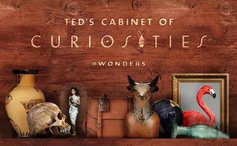 Social Treasure Hunts - Ted Baker's Online Treasure Hunt Has Users Virtually Explore Instagram