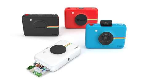 Retro Digital Cameras - The Polaroid Snap Restores the Exhilaration of Photo Prints