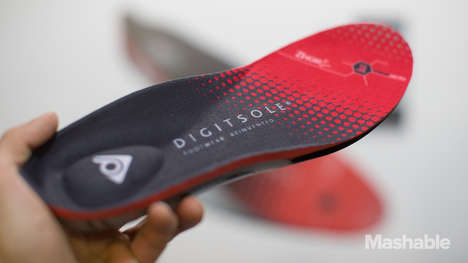Health-Tracking Shoe Pads - This Compact Smart Sole Features Motion Sensors to Monitor Steps