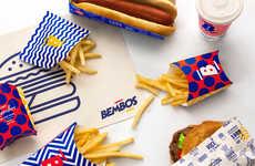 Kidcore Burger Branding - This Peruvian Burger Chain Branding References 1990s-Era Design