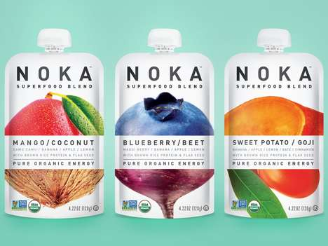 40 On-The-Go Breakfast Innovations - From Superfood Smoothie Pouches to Protein Pancake Mixes