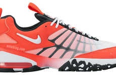 Revived Retro Sneakers - The Comeback Nike Air Max 120 are Redesigned with a Crimson Colorway