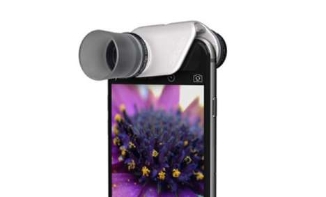 Ultra-Zoom Smartphone Lenses - The Olloclip Macro Pro Lens Can Close-Up at 21x for Superior Detail