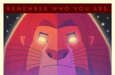 Art Deco Disney Posters