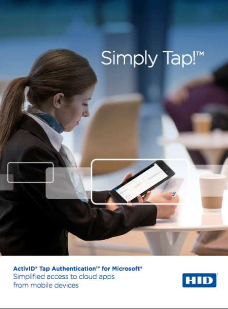 Tap-Accessed Cloud Apps - The HID Global ActivID Tap Authentication is Useful in Retail & Healthcare
