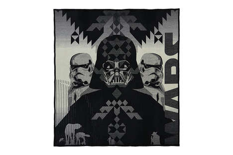 Galactic Character Blankets - These Star Wars Blankets Bring Contemporary Design to the Bedroom