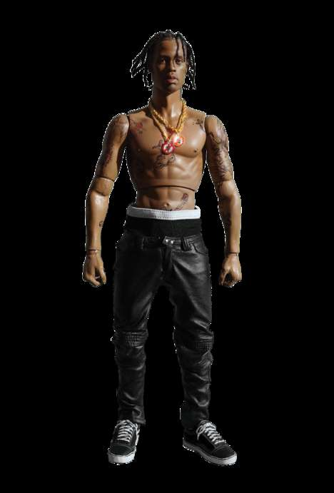 Rapper Action Figures - This Travis Scott Toy Features a Realistic Design