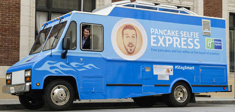 Selfie-Adorned Pancakes - The Pancake Selfie Express Lets Consumers Eat Their Own Images
