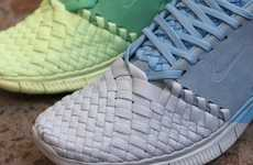 Hand-Woven Athletic Sneakers