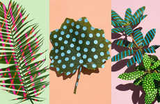 'Wonderplant Prints' Creates Art with Leaves and Stickers