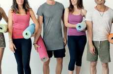 Self-Rolling Yoga Mats - This Yoga Mat Features the Same Technology as a 'Slap' Bracelet