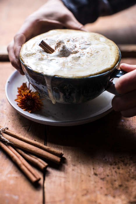Exotic Pumpkin Lattes - This Coconut Pumpkin Spice Latte Refashions the Iconic Autumnal Beverage